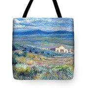 Village Mission Near Taos Tote Bag