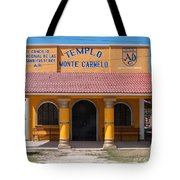 Village Of Coba Tote Bag