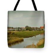 Village Of Kinderjik Netherlands Tote Bag