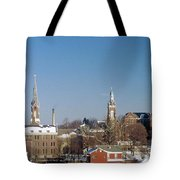Village Of Spires Tote Bag