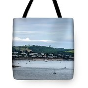 Village On The Sea Tote Bag