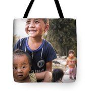 Village Play Tote Bag