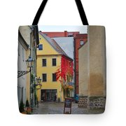 Village Red Vines Tote Bag