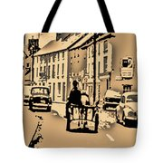 Village Scene Ireland Tote Bag