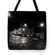 Village Walk Tote Bag by CJ Schmit