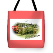 Village With History Tote Bag