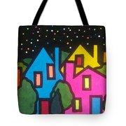 Villagescape Tote Bag