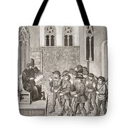 Villains Receiving Their Lord S Orders Tote Bag
