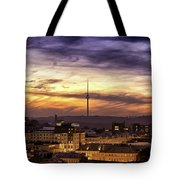 Vilnius Tv Tower Tote Bag