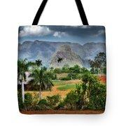 Vinales. Pinar Del Rio. Cuba Tote Bag by Juan Carlos Ferro Duque