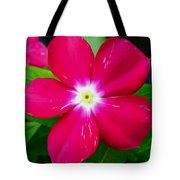Vinca Flower Tote Bag