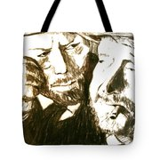 Vincent And Douglas Tote Bag