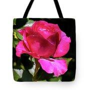 Vincent Red Rose Tote Bag