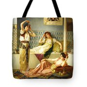 Vincent Stiepevich In The Harem Tote Bag