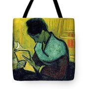 Vincent Van Gogh  A Novel Reader Tote Bag