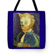 Vincent Van Gogh Cat    Tote Bag