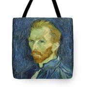 Vincent Van Gogh Self-portrait 1889 Tote Bag