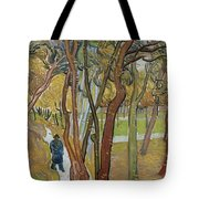 Vincent Van Gogh, The Garden Of Saint Paul's Hospital Tote Bag