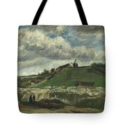 Vincent Van Gogh, The Hill Of Montmartre With Stone Quarry, Paris Tote Bag