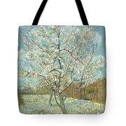 Vincent Van Gogh, The Pink Peach Tree Tote Bag