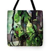 Vine And Trellis Digital Watercolor 4472 W_2 Tote Bag