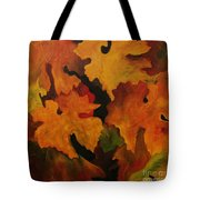 Vine Leaves Tote Bag
