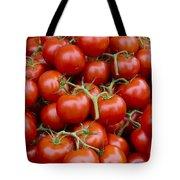 Vine Ripe Tomatos Tote Bag by John Trax