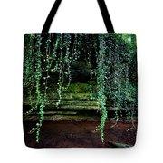 Vines Flow Over Creek Tote Bag