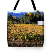 Vineyard 4 Tote Bag