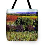 Vineyard 5 Tote Bag