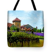 Vineyard And Heather Tote Bag