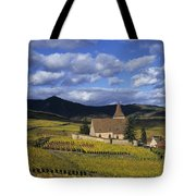 Vineyard In Alsace, France Tote Bag