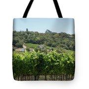 Vineyard In Sebastopol, Sonoma, California Tote Bag