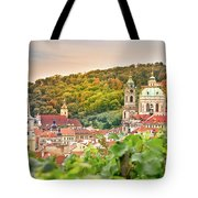 Vineyard Of Prague Tote Bag