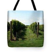 Vineyard On The Peninsula Tote Bag