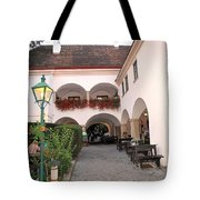 Vineyard Restaurant Tote Bag