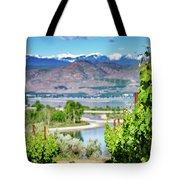 Vineyard View Tote Bag
