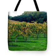 Vineyards In California Tote Bag