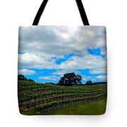 Vineyards In Paso Robles Tote Bag