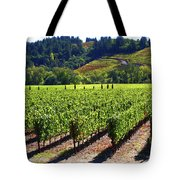 Vineyards In Sonoma County Tote Bag