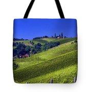 Vineyards Of Jerusalem Slovenia Tote Bag