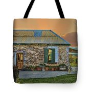 Vino Cottage Tote Bag