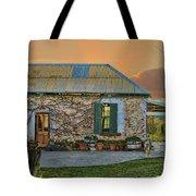 Vino Cottage Tote Bag