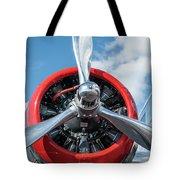 Vintage Aa Propeller Tote Bag