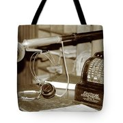 Vintage Adding Machine Tote Bag