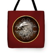 Vintage American Bald Eagle Tote Bag