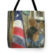 Vintage Americana Tote Bag