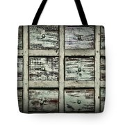 Vintage Apothecary Drawers Tote Bag