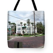 Vintage Florida Apt Bldg Tote Bag