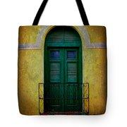 Vintage Arched Door Tote Bag